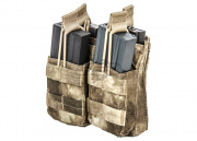 Condor Outdoor Dual Open Top Stacker M4/M16 Magazine Pouch (A-TACS)