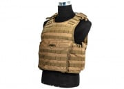 Condor Outdoor EXO Plate Carrier (L/XL, Tan)