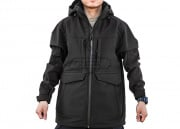 Condor Outdoor Overcast Softshell Parka (Black/XL)