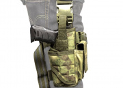 Condor Outdoor Tornado Tactical Leg Holster (A-TACS FG)