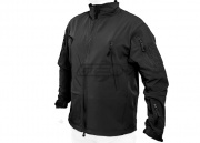 Condor Lightweight Vapor Rip Stop Windbreaker (Black/Large)