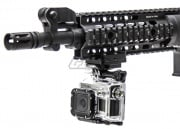 Capture Your Hunt Picatinny Rail Mount w/ Keeper for GoPro