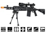 1 Cent 24 Hour Deal Echo 1 M14 Combat Master RIS Rifle AEG Airsoft Gun (Black) #6