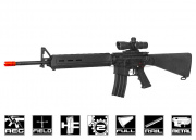 Echo 1 Platinum Edition Full Metal M16 AEG Airsoft Gun (Black/Black)