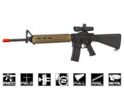 Echo 1 Platinum Edition Magpul MOE M16 Rifle AEG Airsoft Gun (Black/FDE)