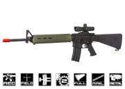 Echo 1 Platinum Edition Magpul MOE M16 Rifle AEG Airsoft Gun (Black/OD)