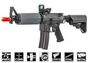 Echo 1 Platinum Edition Commando Full Metal M4 AEG Airsoft Gun (Gray) (LiPo Battery Charger Combo)