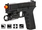 Echo 1 Timberwolf Zev Custom Pistol GBB Airsoft Gun Limited Edition (Black)
