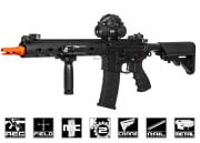 "G&G Combat Machine GC16 FFR 12"" M4 Carbine AEG Airsoft Gun (Black)"