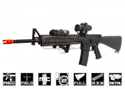 Echo 1 Full Metal Platinum Series M16A4 RIS AEG Airsoft Gun ( Dark Earth )