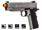 Elite Force 1911 Tactical CO2 Blowback Pistol Airsoft Gun (Grey)