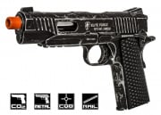 Elite Force 1911 Tactical CO2 Blowback Limited Edition Airsoft Gun w/ Pistol Case (Weathered)