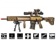 Elite Force H&K G28 Designated Marksman Rifle AEG Airsoft Gun (Flat Dark Earth)