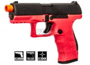 Elite Force Walther PPQ Tactical GBB Pistol Airsoft Gun by VFC (2 Tone/Black & Pink)