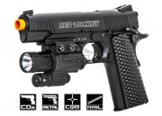 Red Jacket Firearms 1911 A1 Full Metal CO2 Airsoft Gun