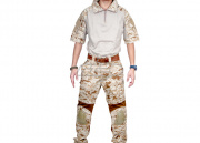 "Emerson Gen 2 Combat Shirt & Pants Set by Lancer Tactical (Desert Digital/LG/34""Waist)"