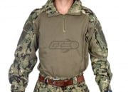Lancer Tactical Gen 3 Combat Shirt (Woodland Digital/XS/S/M/L/XL)