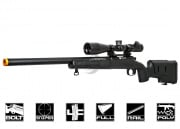 FN Herstal SPR A5M Bolt Action Sniper Rifle Airsoft Gun (Black)