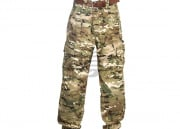 "TMC Combat Pants With Knee Pads by Lancer Tactical (Camo - LG/36"" Waist)"