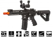 G&G Combat Machine GC16 SR CQB Keymod M4 Carbine AEG Airsoft Gun ( Black / Battery & Charger Package )
