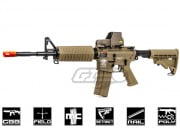 G&G Combat Machine M4 Carbine Gas Blow Back Airsoft Gun (Tan/Version 2)
