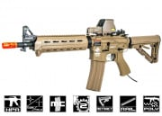 G&G Combat Machine CM16 MOD0 Carbine With Valken V12 Engine Airsoft Gun (Tan)