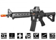 G&G Combat Machine CM16 MOD0 Carbine AEG Airsoft Gun (Black/Battery & Charger Package)