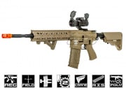G&G Combat Machine CM16 R8-L M4 Carbine AEG Airsoft Gun (Tan)