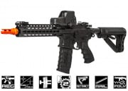 G&G Combat Machine CM16 SRL M4 Carbine AEG Airsoft Gun ( Black / Battery & Charger Package )
