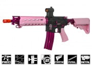 G&G Combat Machine CM16 MOD0 UPI Limited Edition M4 Carbine AEG Airsoft Gun (Pink)