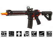 G&G Combat Machine CM16 SRXL Keymod M4 Carbine AEG Airsoft Gun (Red)