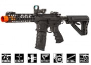"1 Cent 24 Hour Deal G&G Combat Machine GC16 Wild Hog 9"" Keymod M4 Carbine AEG Airsoft Gun (Black) #4"
