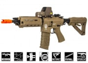 G&G GR4 G26 Advanced DST M4 Carbine Blow Back AEG Airsoft Gun Light & Laser (Tan)