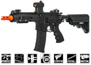 "G&G Combat Machine GC16 FFR 7"" M4 Carbine AEG Airsoft Gun ( Black )"