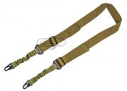 Airsoft GI 2 Point Dual Bungee Sling (Tan)