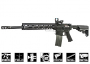 "Airsoft GI ARES Custom Full Metal 18"" DMR Airsoft Gun (Black Card Custom)"