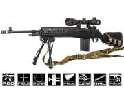 Airsoft GI Extreme Custom Armory Interdiction M14 AEG Airsoft Gun (Black Card Custom)