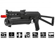 Airsoft GI Extreme Custom Armory PP-19 Bizon AEG Airsoft Gun (Black Card Custom)
