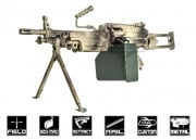 Airsoft GI Custom M249 Para Polar Star Airsoft Gun (Black Card Custom)