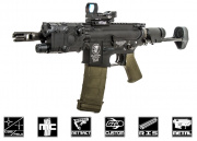 Airsoft GI Custom Polar Star Raptor Airsoft Gun (Black Card Custom)