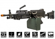 Airsoft GI Custom Support Gunner (BF4) M249 Airsoft Gun (Black Card Custom)
