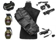 Airsoft GI Tactical Essentials Go Accessory Pack Package (BLK)