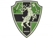 Airsoft GI Store Crest Elk VA PVC Patch (Full Color)