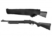 Jag Arms Scattergun HD Gas Shotgun Airsoft Gun w/ Scabbard (Black/Black)