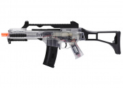 H&K G36C Spring & Electric Powered Canadian Legal Airsoft Gun (Clear)
