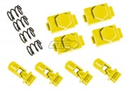 DYTAC Hexmag Airsoft HexID w/ Latchplate & Follower (Hazard Yellow)
