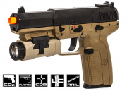 FN Five-Seven Co2 Pistol Airsoft Gun (Two Tone) (Licensed by Cybergun)