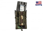 High Speed Gear Double Decker TACO Magazine Pouch (Woodland)