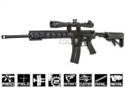 "Airsoft GI Custom ICS Full Metal 18"" DMR Airsoft Gun (Black Card Custom)"