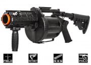 ICS MGL Gen. 2 Short Barrel Revolving Grenade Launcher (Black)